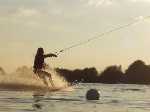 Snowboard Agua, Deporte, Naturaleza, Canadá