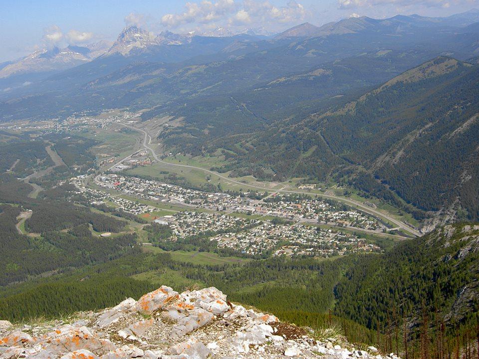 Frank Slide, Crowsnest Pass, Alberta, Canadá