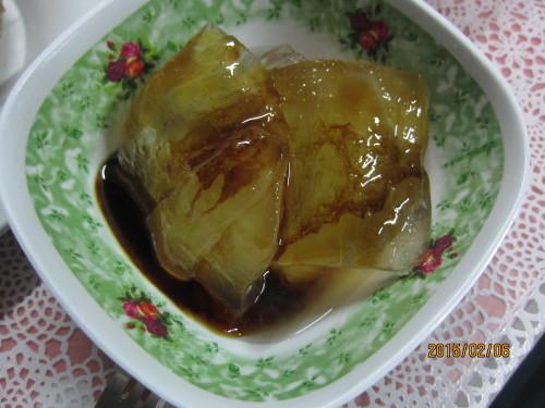 Áloe con miel y algarrobina