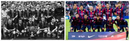 El Barcelona de los 60's y el Barcelona del 2015