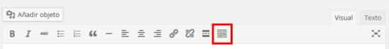 """Haga clic de munu """"Alternar barra de herramientas""""."""