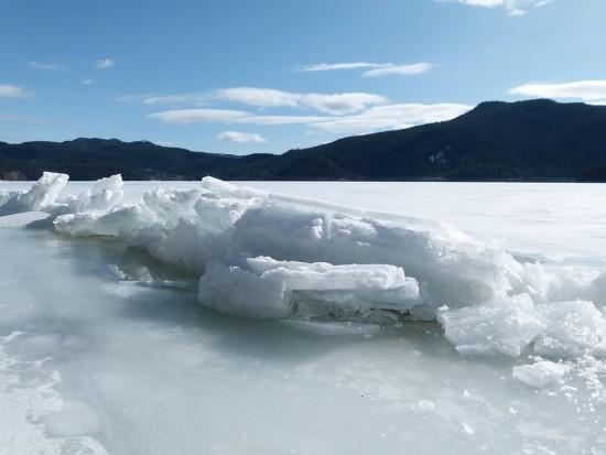 Lago, Hiero. Frío, Naturaleza