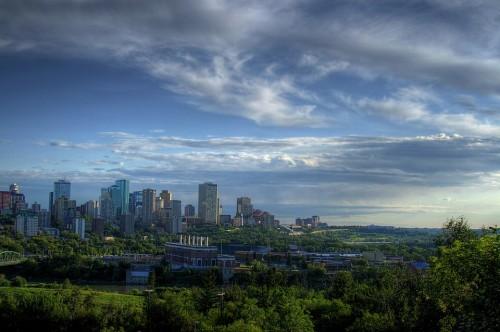 Edmonton, Alberta, Canadá, Moderno