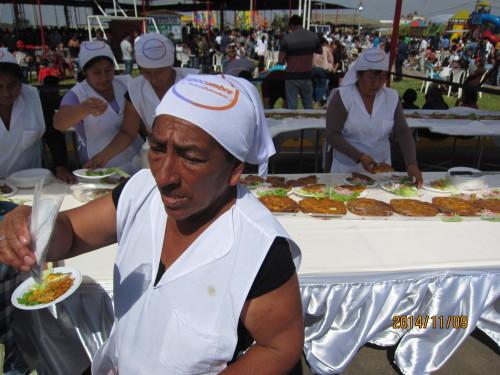 Tortilla de Raya es famosa en Chiclayo.