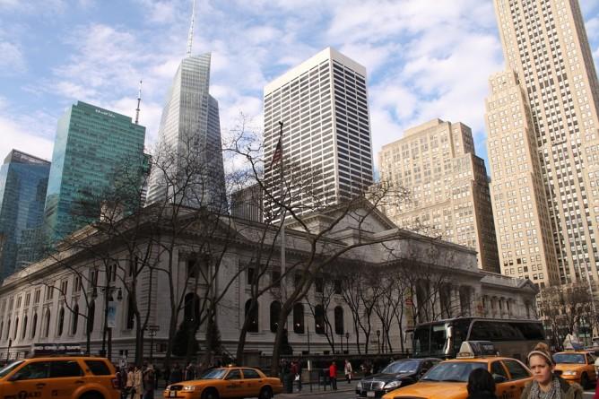 La Biblioteca Pública, Nueva York, Manhattan, Estados Unidos