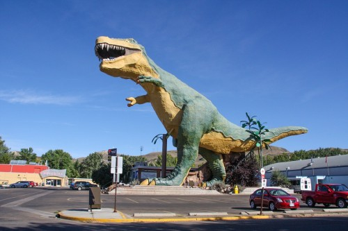 Dinosaurio, Fósil, Canadá, Naturaleza