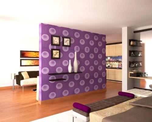Como tapizar una pared cool paso fija la tela con grapas for Papel para tapizar paredes