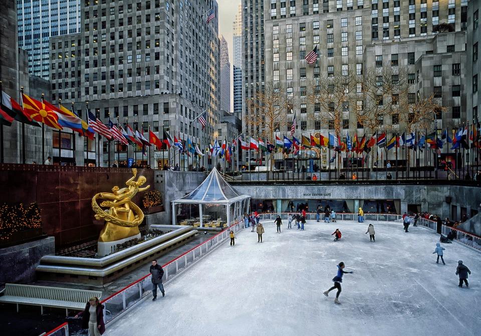 Rockefeller Plaza, Nueva York, Manhattan, Estados Unidos