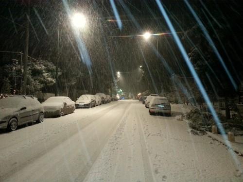 Invierno, Tormento de Nieve, Frío, Canadá