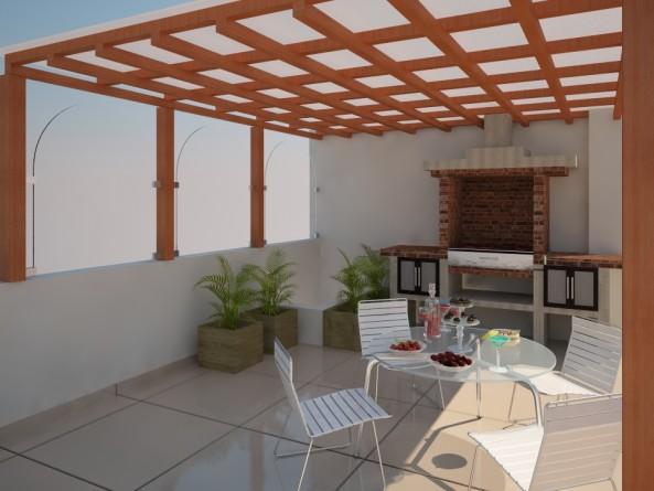 Dise o de terrazas el viento 365 - Barbacoa para terraza ...