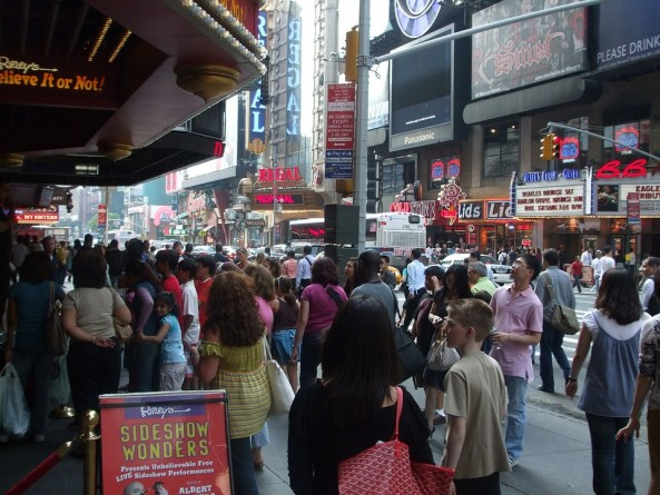 Broadway, Nueva York, Manhattan, Estados Unidos