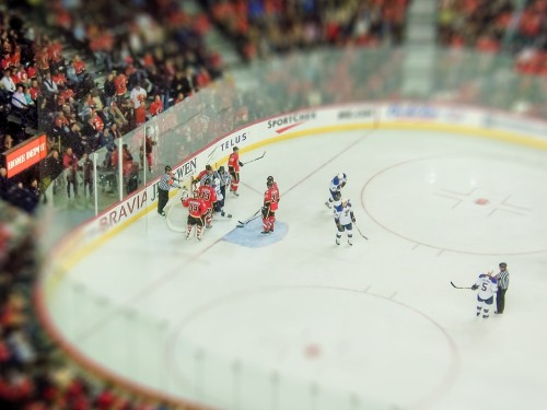 Calgary, Alberta, Canadá, Hockey