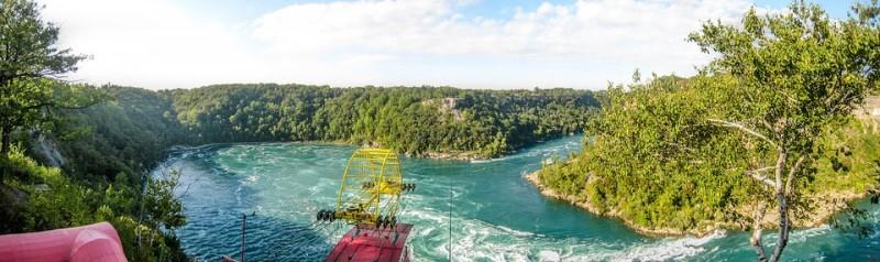 Whirlpool Aero Car, Niagara, Canadá, Estados Unidos