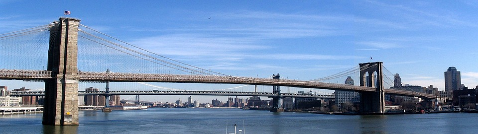 Puente de Brooklyn, Nueva York, Manhattan, Estados Unidos
