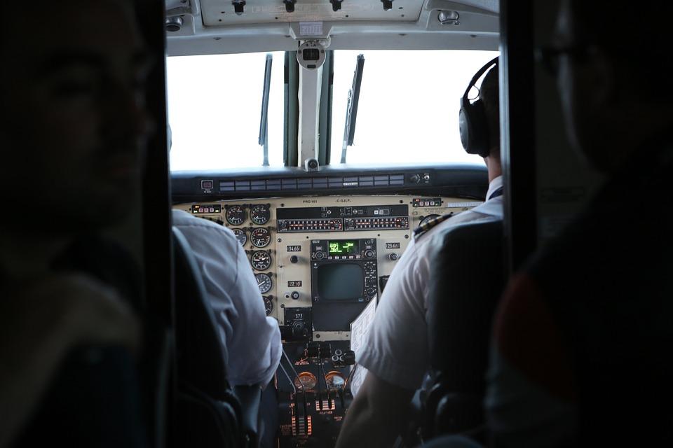 Avion, Canadá, Viaje, piloto