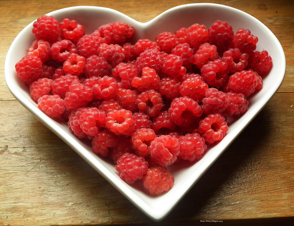 frutos rojos, mujeres, belleza, saludable