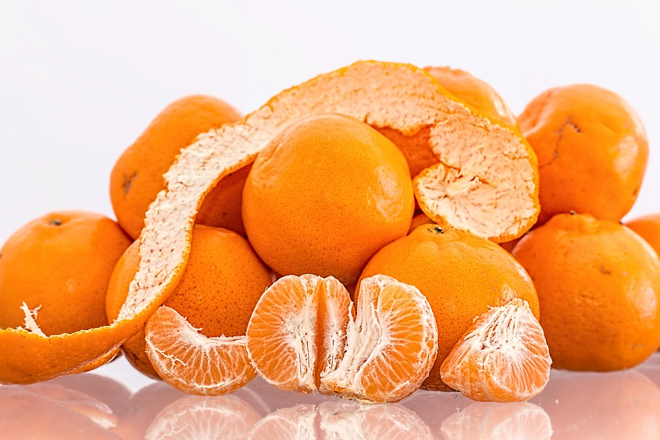 efecto, Vitamina, salud, mandarina