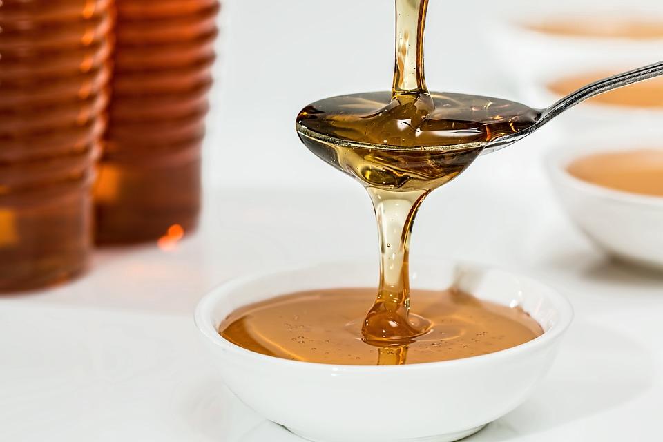 miel, nutrición, vitamina, salud