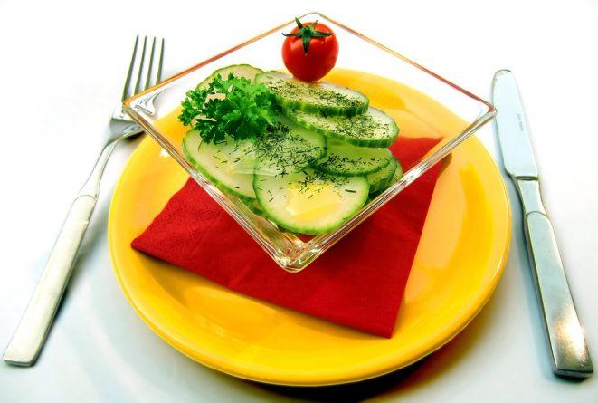 ensalada de pepino