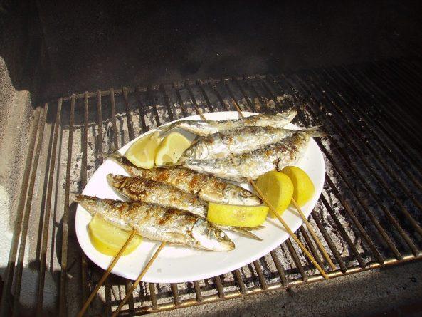 asar el pescado