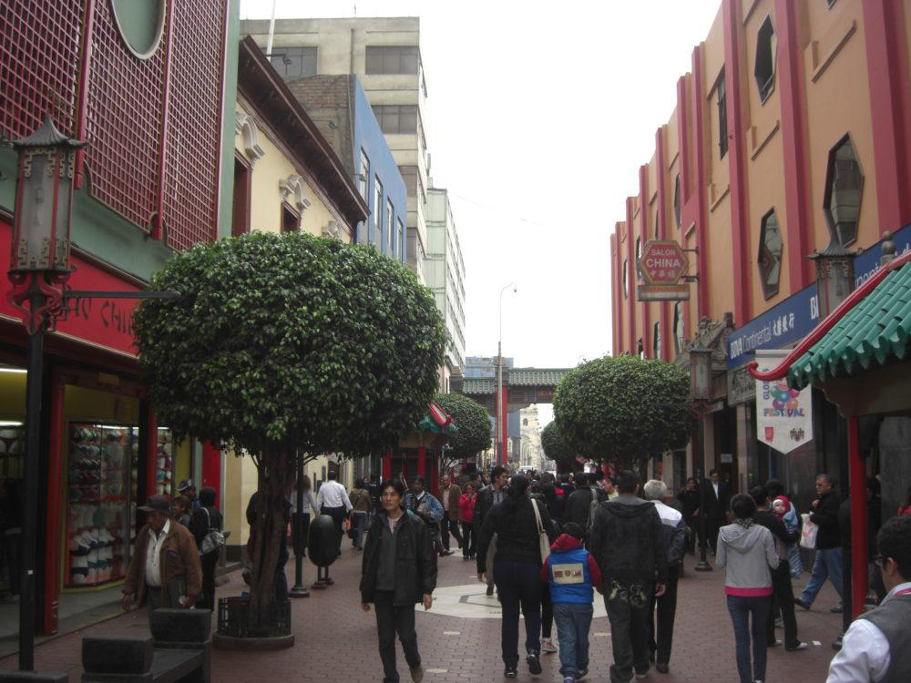 El Barrio chino de Lima
