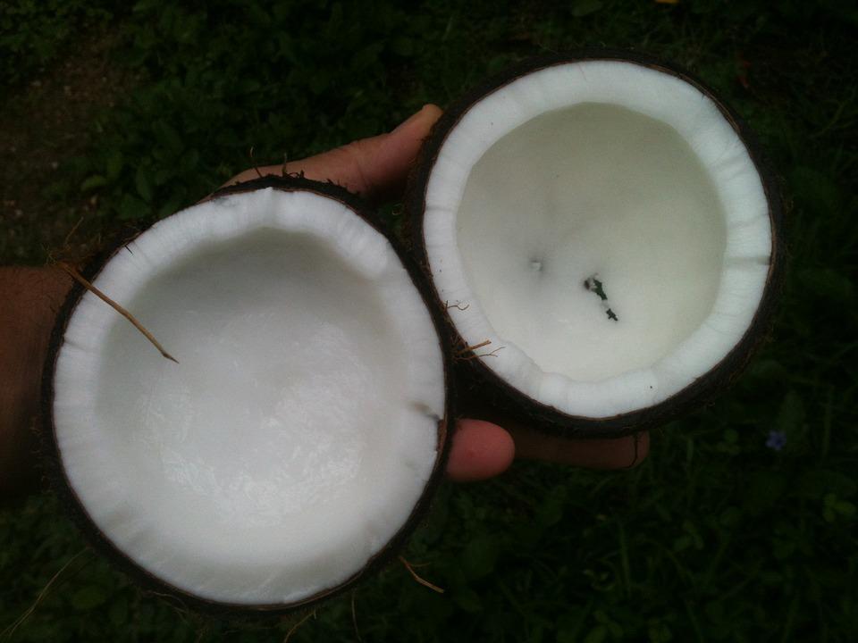 aceite de coco, belleza, piel, boca