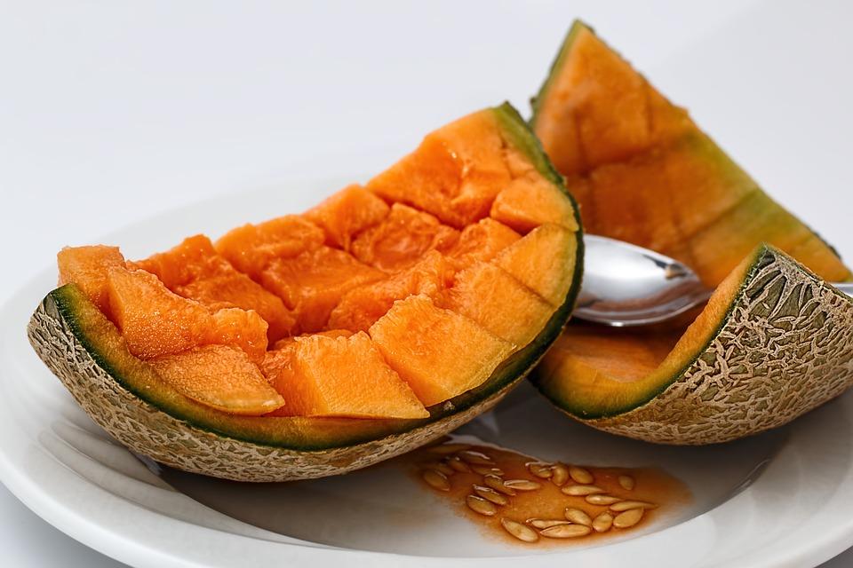 melón, antioxídante, piel, bella, envecimiento