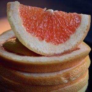 toronja, pomelo, dieta, piel