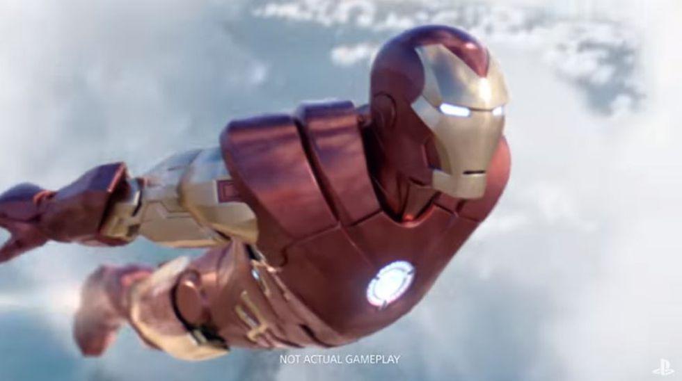 Marvel's Iron Man VR ya se encuentra disponible para PlayStation 4.