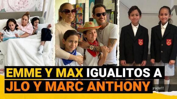 Hijos de JLo y Marc Anthony